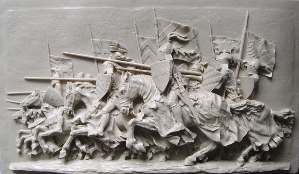 Knights Charge Into Battle On This Exquisitely Detailed