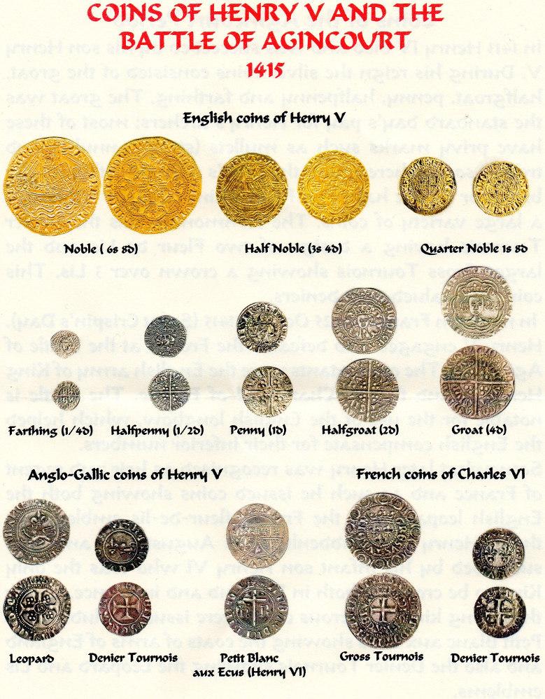Agincourt Coins