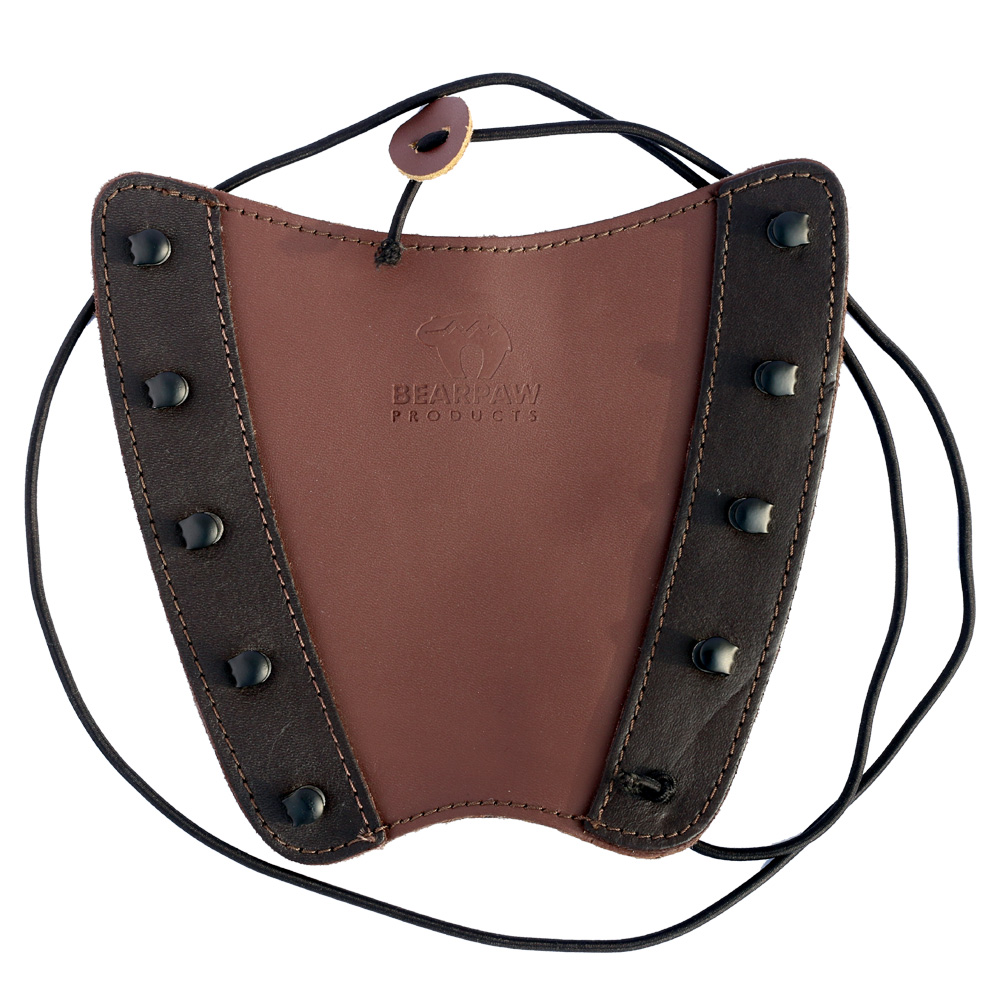 Brandy bracer, leather archers arm guard.