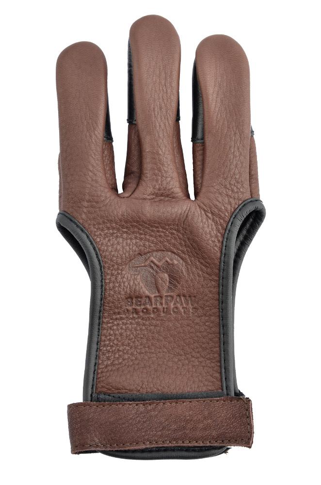 Deerskin shooting glove