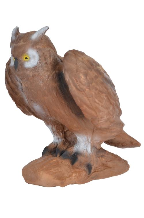 3D eagle owl group 3 archery target.