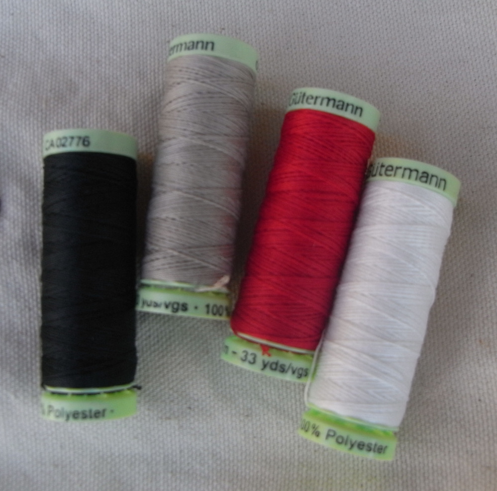 Polyester thread for whipping arrows.