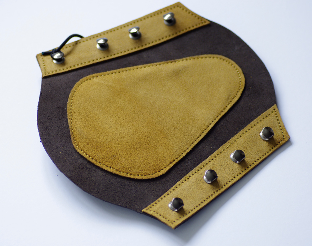 Hoyuk Bracer, suede leather.