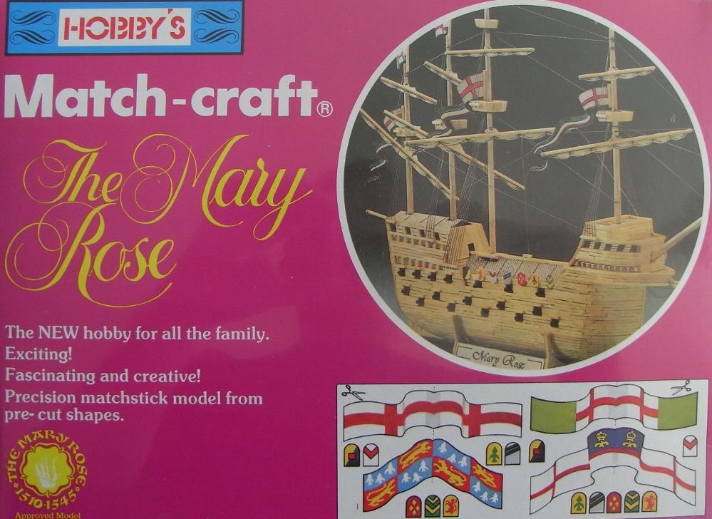 Match Craft Mary Rose.