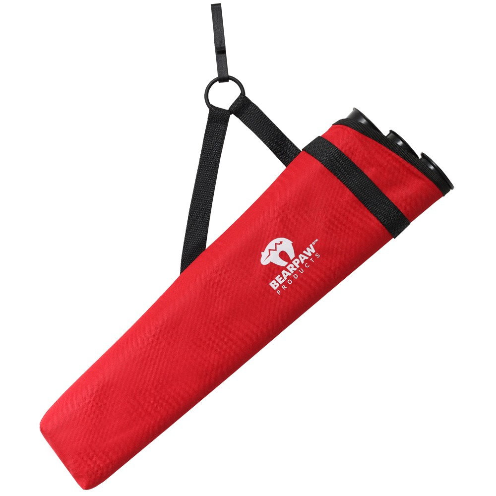 Clip Two side quiver Red.