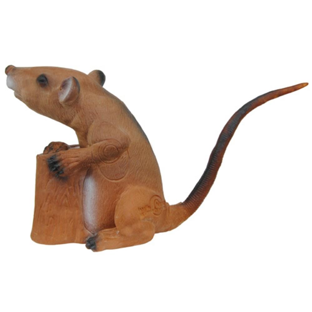 3D Rat Group 4archery target.