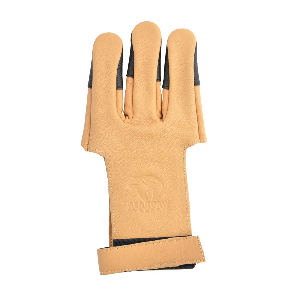 Standard shooting glove.