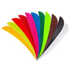 3 inch parabolic fletchings