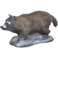 3D Small Raccoon Target Group 4
