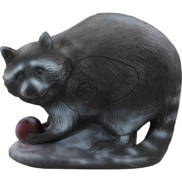 3D Raccoon - Group 3. Eating an apple!