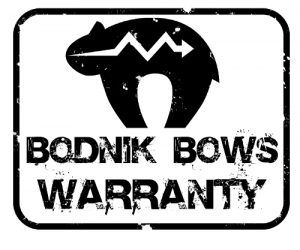 bodnik bows warranty