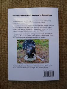 Teaching traditional archery rear
