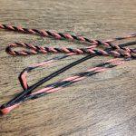 Flemish Twist String - Orange and Black