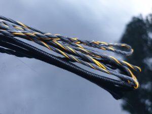 Bow String. GTpro16 Sherbet. Blue & Yellow