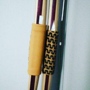 triple laminate longbow. mother of pearl pass. Black Arrow Longbows