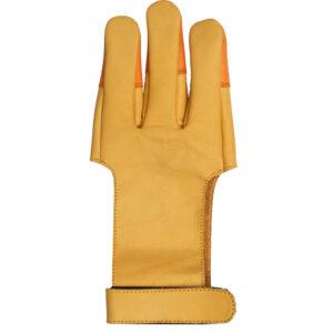 classic shooting glove back