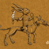 marginalia - rabbit hunting